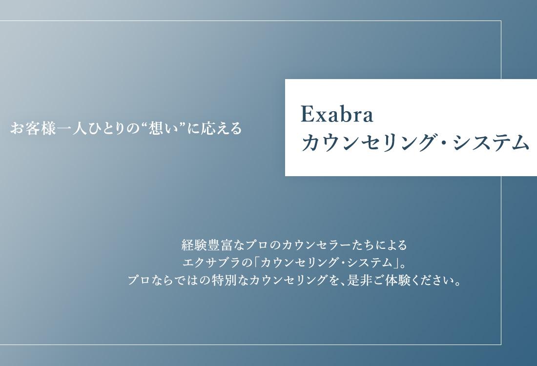Exabra カウンセリング